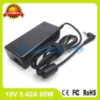 19 v 3.42a 65 w laptop ładowarka ac adapter fsp065-rac dla asus pro45vj r403u r412cp s301a1 s7 u24gi u35jc u80f x20s w5
