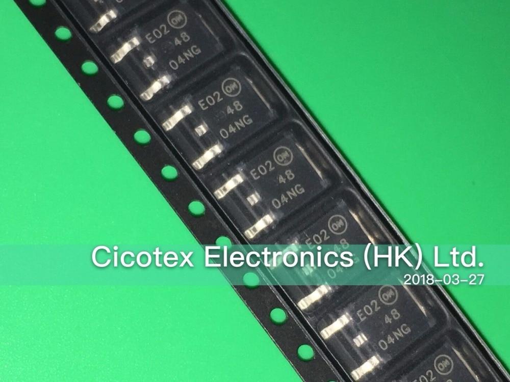 10 unids/lote NTD4804NT4G TO252 MOSFET N-CH 30V 14.5A DPAK 4804NG NTD4804NG 48 04NG