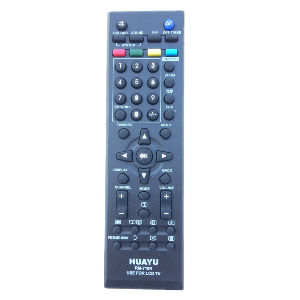 RM-710R Remote Control For JVC LED TV Replace LT-32EX18 LT-42EX18 RM-C565 RM-C567 RM-C601 RM-C620 RM-C637 RM-C680 RM-C2020 ...