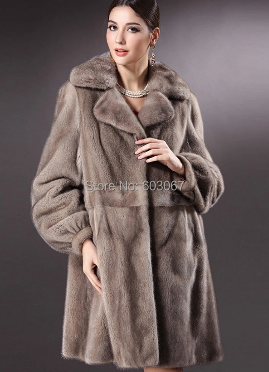 Luxury Mink Coat | Fashion Women's Coat 2017
