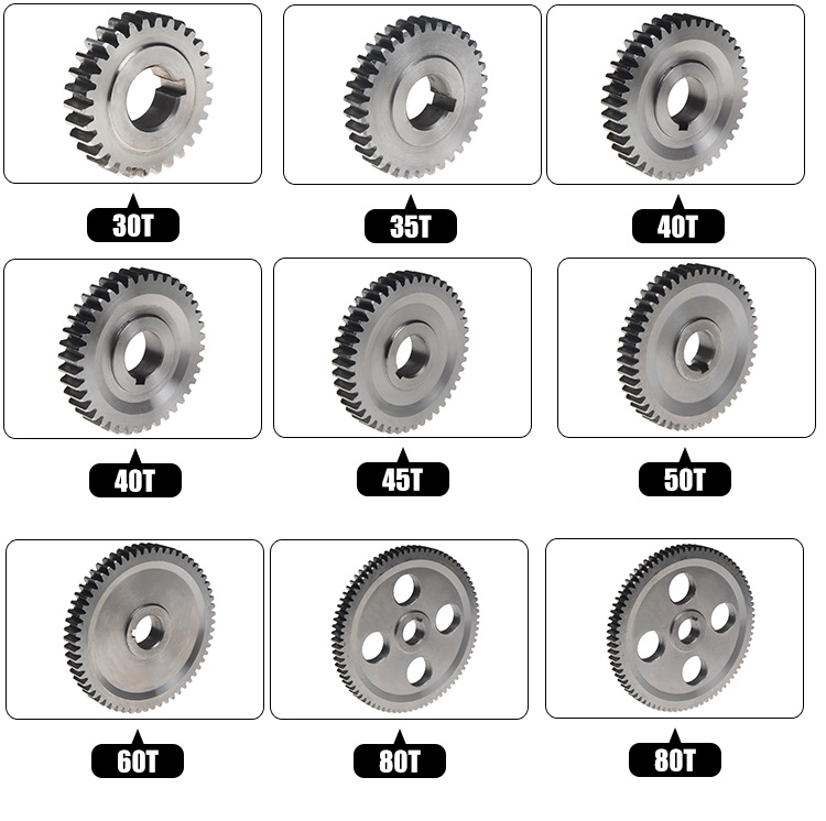 Free Shipping West Matt SIEG: The Lathe Gear Of Small Lathe Gear In The Household For C2 C3 HOLE Size 12mm, 9518D Lathe.