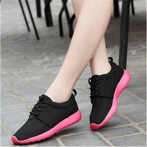 413f94ff61baf Vixleo light breathable Sport shoes 2017 black White Size 36-45 Men Women  roshly