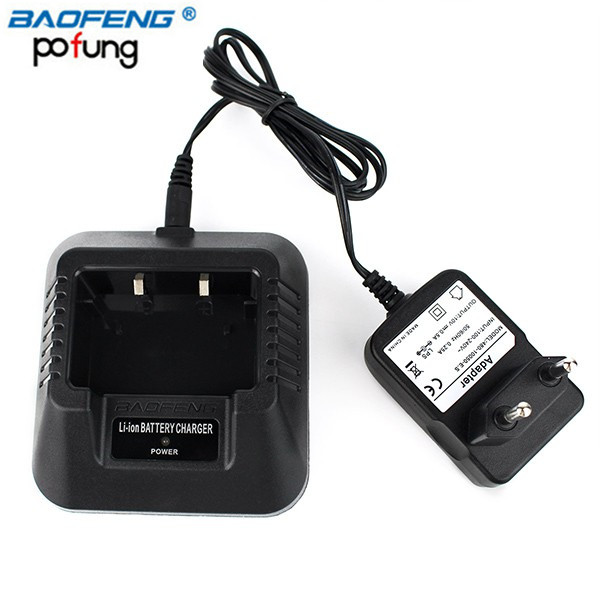 Baofeng Chargeur de Batterie Pour Baofeng UV-5R UV-5RA UV-5RB UV-5RC UV-5RD UV-5RE UE/US/UK Plug (En Option)