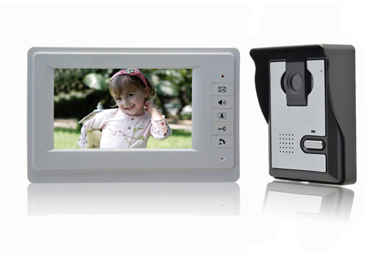 7 inch Screen Hands-Free Intercom Video Door Phone