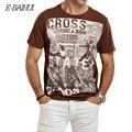E-BAIHUI marca Verano Hombres Ropa de Algodón Dsq Camisetas casual Camiseta tops Gimnasio Tees Monopatín camisetas Moleton hombres Y032