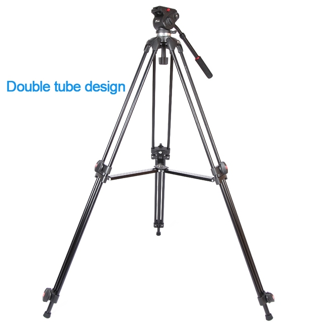 JY0508 JY-0508 JIEYANG Aluminum Professional Tripod for camera stand / DSLR video tripods / Fluid Head Damping