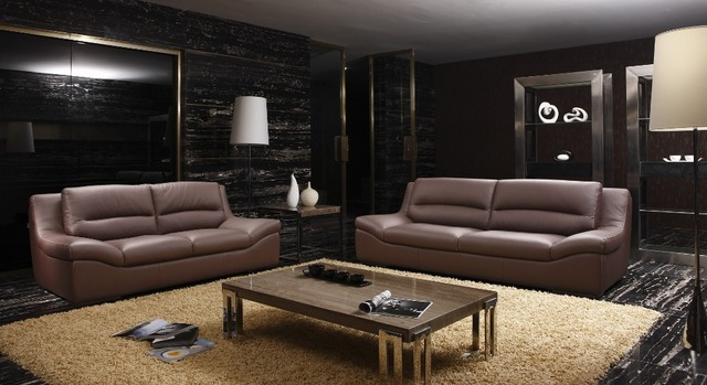 cow genuine/real leather sofa set living room sofa sectional/corner sofa set home furniture couch modern 2+3 seater