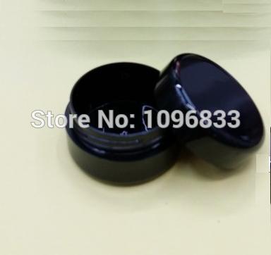 94267283ed 5g tarro, tarro de crema negro, 5g tarro de crema, envase cosmético, tarro  poner crema de la muestra, caja de plástico, envase cosmético del embalaje,  ...