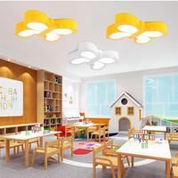 Современная детская Спальня потолочный светодиодный творческая личность магазин бабочка мультфильм детский сад потолочные светильники с