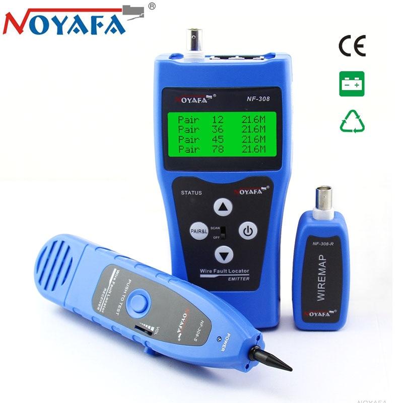 Original NOYAFA NF 308 Wire Tracker for Diagnose Tone UTP STP RJ11 Telephone BNC RJ45 Network