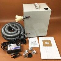 Стоматологических пылеуловителя цифровое управление двойной мотор колеса сильная власть Стоматологическая Вакуумный пылеудаляющего для