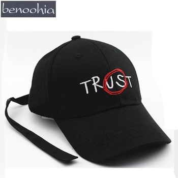 BBS128 Korea GD TRUST Letter Embroidery Baseball Cap Long Belt Cotton Casual Trucker Hat Snapback Hats Bone Casquette Gorras bone para bordar