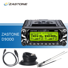 ZASTONE D9000 Car Walkie Talkie +Programming Cable+HH9000 Antenna+Antenna Base, 50W VHF UHF Two Way Radio Transceiver for Car