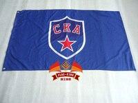 Ска хоккейный флаг 90*150 см полиэстер флаг, СКА хоккейный игровой баннер
