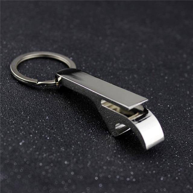 Personalisierte Silber Flaschenöffner Schlüsselring Schlüsselhalter ...
