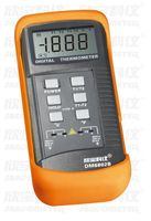 Portable Digital Lcd Thermometer with K Type Thermocouple Sensor Double Channel Temperature Meter Dm6802B