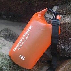 2L 5L 10L Im Freien Wasserdichte Schwimmen Tasche Eimer Trocken Sack Lagerung Tasche Fluss trekking Rafting Kajakfahren Reise Wasser Barrel