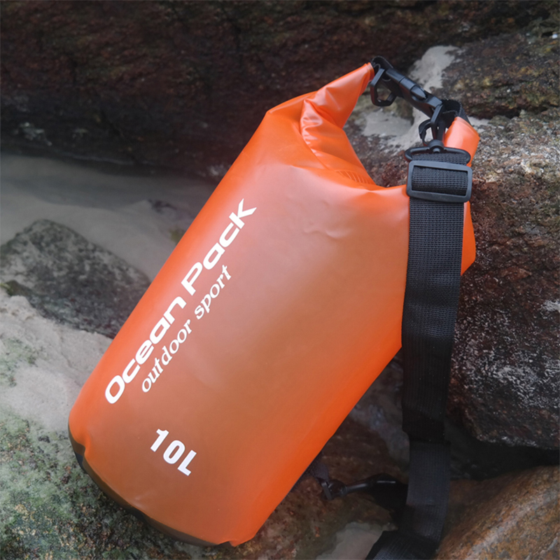 2L 5L 10L Outdoor Waterproof Swimming Bag Bucket Dry Sack Storage Bag River Trekking Rafting Kayaking Travel Water Barrel