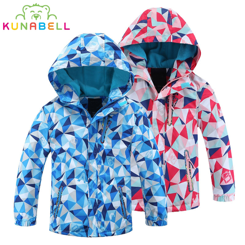 Children Outerwear Warm Coat Sport Kids Clothes Sport Coat Waterprodf Windbreaker For Boys Girls Jackets Spring