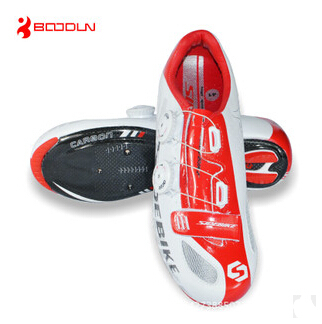 boodun new carbon fiber road cycling shoes sports shoes professional equipment mountain bike cycling shoes lock shoes