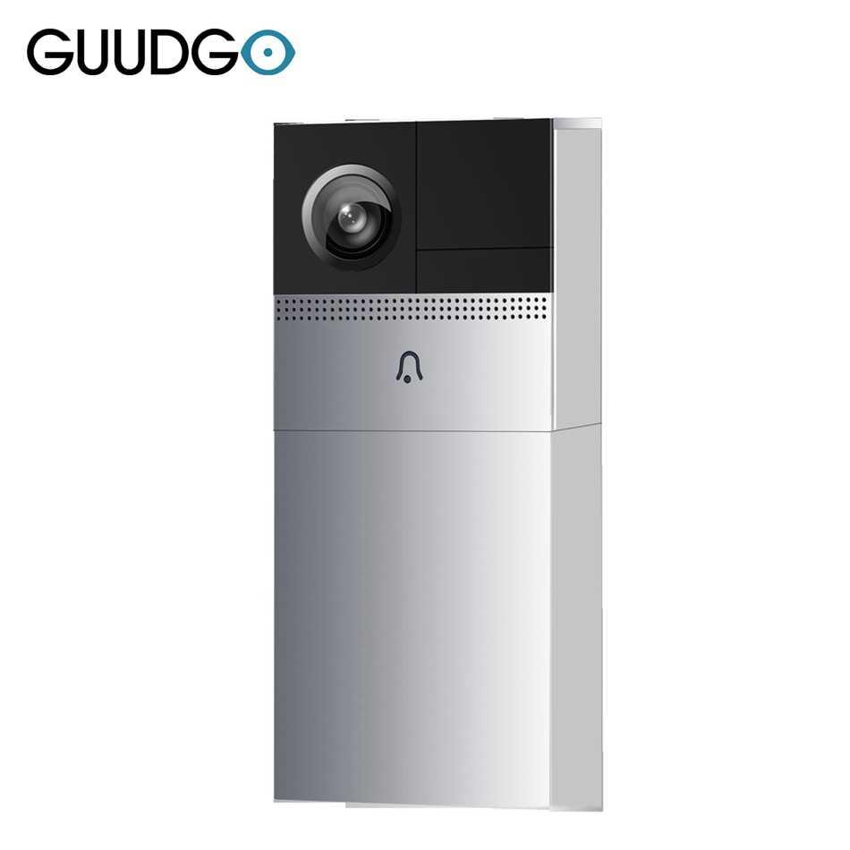 GUUDGO GD-VD01 Smart Home Wireless Wifi Remote Waterproof Video Doorbell  Camera Phone Visual Intercom Home Security Low Power
