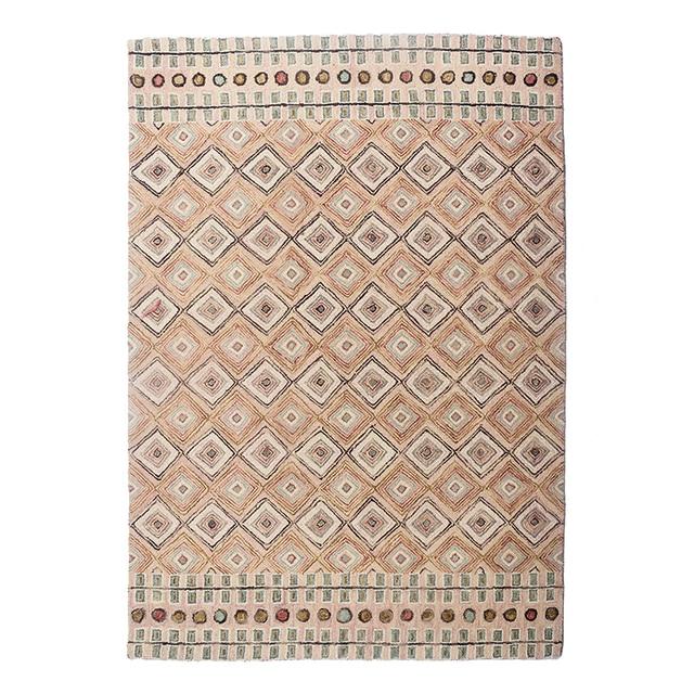 Geometric Handmade Bohemian Carpet