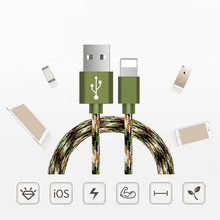 Alloy Wire Data Sync Charger Micro USB Type c Cable 8pin cable for iphone 5s 7