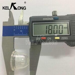 Image 5 - KELKONG Transparent 5PCS 22mm OD Option Fuel Pump Carburetor Primer Bulb Cup For Chainsaws Blower Trimmer Brushcutter
