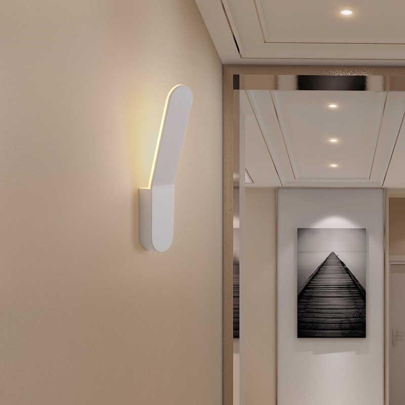 الحديثة الألومنيوم وحدة إضاءة led جداريّة ضوء الحد الأدنى الحمام ضوء الممر التلفزيون حائط الخلفية مصباح موجة نمط الشمعدان luminaria led تركيبات