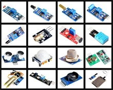 Promo offer HOT!! 16pcs/lot Raspberry Pi 3&Raspberry Pi 2 Model B the sensor module package 16 kinds of sensor Free shipping