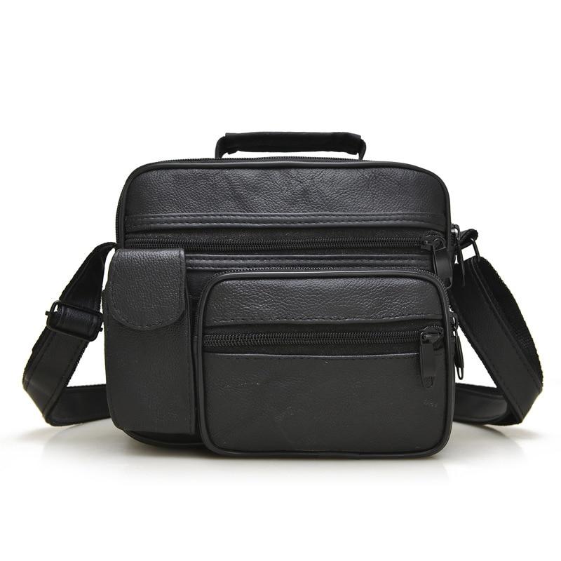 все цены на Hot Sale Male Messenger Crossbody Shoulder Bag  Bags Pu Leather Men Bags Men's Casual Travel Bag For Man онлайн