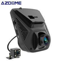 AZDOME A305 Dual Lens FHD 1080 P Dell'automobile DVR Novatek 96658 LCD Screen Sony IMX323 Auto Video Recorder Dash Cam con Telecamera Posteriore