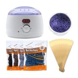 Mini wielofunkcyjny wyświetlacz Led cieplej gorący podgrzewacz wosku Spa ręczny depilator stóp parafina podgrzewacz ciała Spa maszyna do wosku wtyczka amerykańska