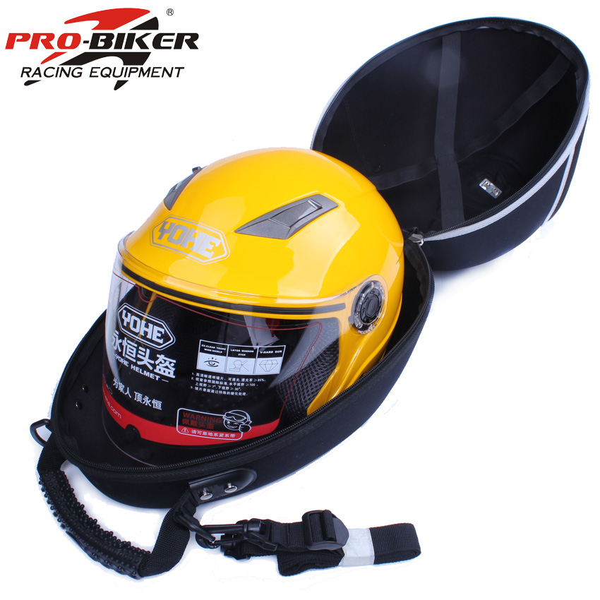 Pro-biker Genuine Motorcycle Waterproof Half Helmet Bag Equipment Bag Multifunctional Motor Helmet Tool Luggage Bag Should Bags