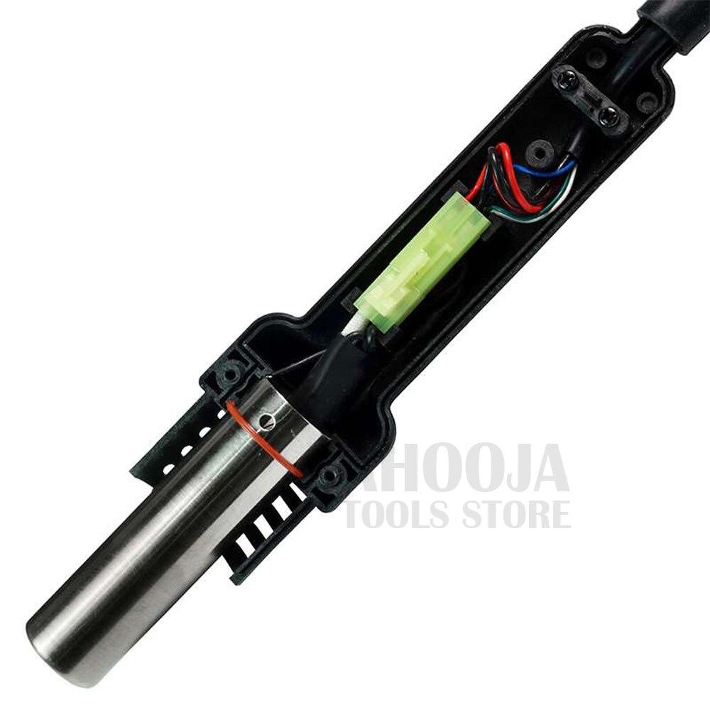 Pro'skit умная Тепловая пушка паяльная станция 600 Вт 220 В интеллектуальный цифровой дисплей ЖК дисплей антистатические паяльные ремонтные инструменты - 5
