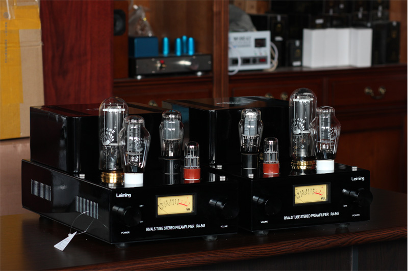 2018 Latest Douk Audio 300B Push 845 Handmade Tube Amplifier Stereo Class A Split SRPP Hi-Fi amp Large Power 60W music hall pure handmade hi fi psvane 300b tube amplifier audio stereo dual channel single ended amp 8w 2 finished product