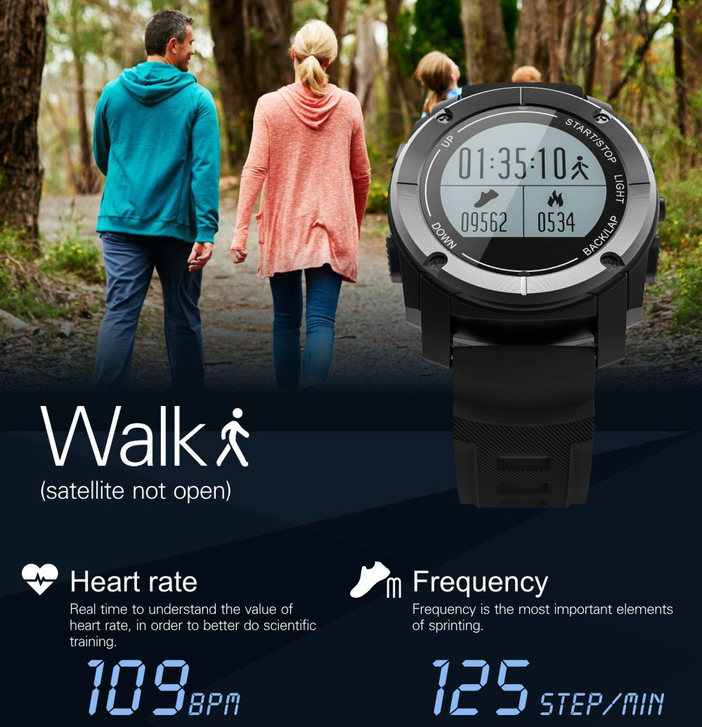 Greentiger GPS Outdoor S928 Smart Watch Heart Rate Monitor Smart Wristband Sport Smartwatch for Android IOS Phone 17