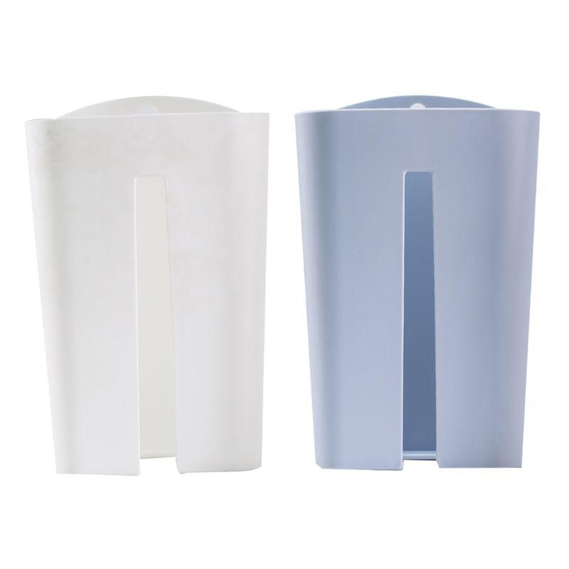 Настенная самоклеющаяся коробка для салфеток, держатель для салфеток, пластиковый мешок для мусора, Диспенсер, стеллаж для хранения, автомобильный подвесной органайзер Kicthen