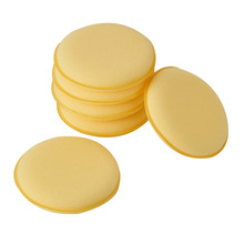 6pcs/set Cleaning Waxing Buffing Sponge Pad Polish Wax Foam Sponge Pads Fit for Auto Cleaning