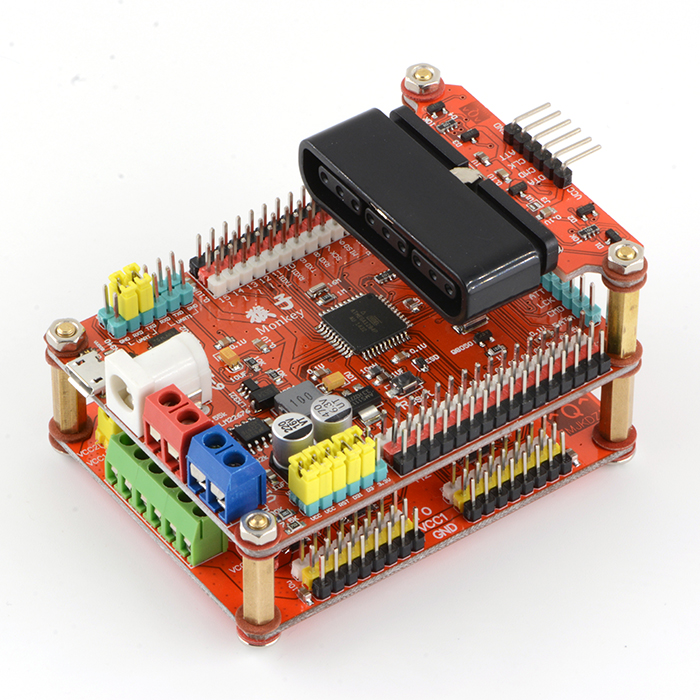 Robot Control Board SSC-32 Steering Gear Control Panel Servo Control Panel Support PS Handle Remote Control