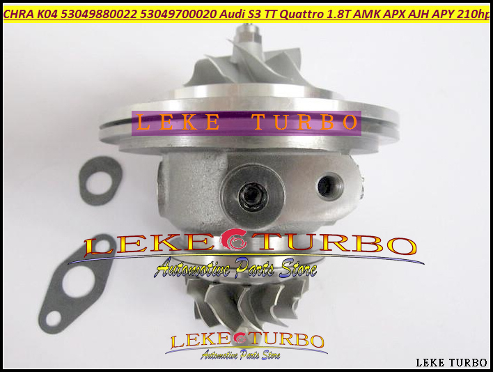 Turbo Cartridge CHRA K04 22 53049880022 53049700022 06A145704P 06A145704PX 06A145704PV For Audi S3 TT 1.8T Leon AJH AMK APX 1.8L kkk turbo charger 06a145704m 06a145702 06a145704p turbine core assembly chra 225hp apx for audi tt quattro 1 8 t 1999 2002
