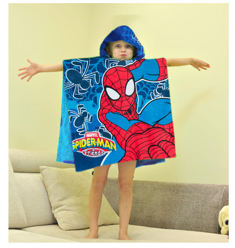 kids hooded beach towels. Kids Hooded Beach Towel Boy And Girls Bath/Beach Poncho Children Cotton Cape Wash Bath Towel-in Towels From Home \u0026 Garden On R