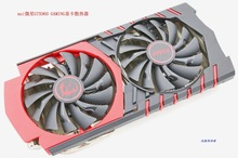 New Original for MSI GTX960 GAMING video font b card b font cooler fan with heat