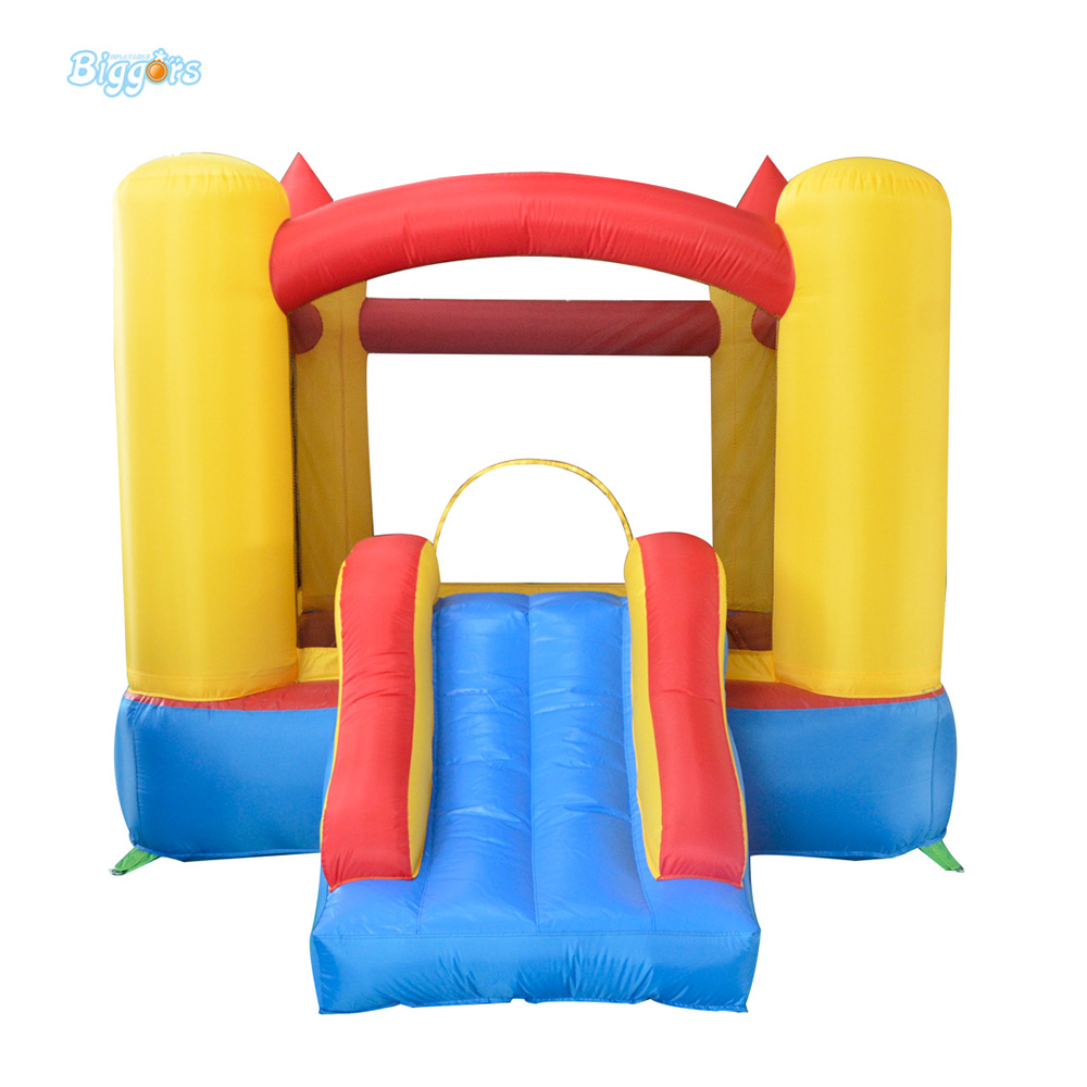 DHL Free Shipping Inflatable Bouncer Bouncy Jumper with Blower with Slide Piece for Sale for Kids  цены