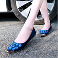 2017 Spring Fashion Women's Casual Comfortable Footwear Flower Rhinestone Female PU Leather Princess Sweet Flat Shoes for Women