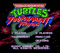 Turtles Tournament Fighters 16 bit MD card with Retail box for Sega MegaDrive Video Game console system 1
