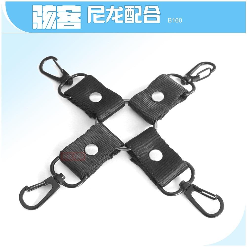 Genteel Back-hand Binding Adult Sex Toys Cross-buckled Feather Handcuffs Footcuffs Hand-foot Binding