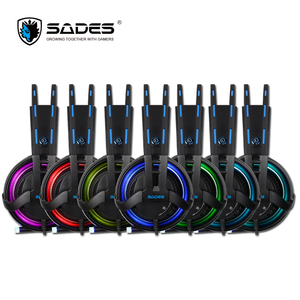 Image 4 - SADES Diablo Realtek Effect Gamer Headphones RGB Gaming Headset Headphone with Retractable Microphone