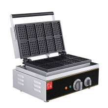 цена на Stainless Steel Waffle Machine Commercial Waffle Maker Muffin Machine 10 grid Crispy Pancake Machine FY-10 1550w