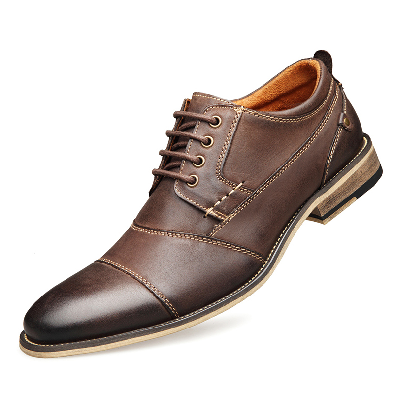 YIGER Men Dress Shoes 21